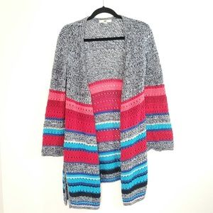 Ya Los Angeles multicolor knit cardigan